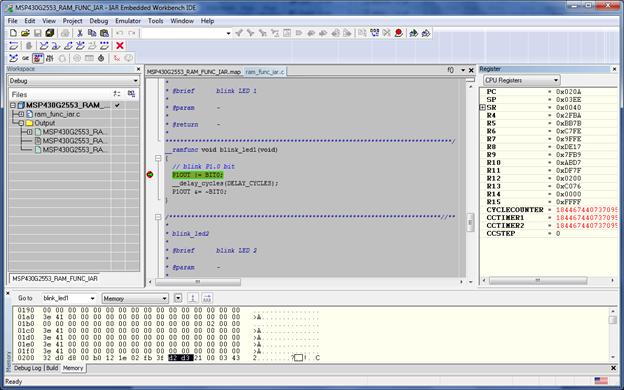 RAM_Function_Debug_IAR