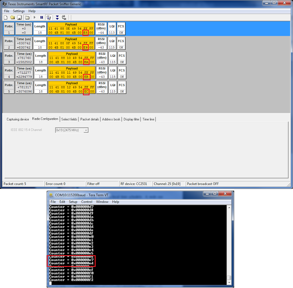 Running Contiki 2 7 CC2538DK Demo | Embedded Funk